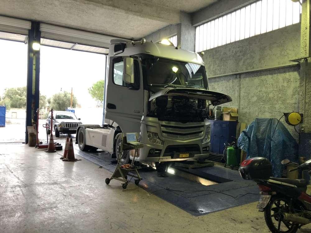 Διαγνωστικό Έλεγχος φορτηγού - Γεραλής | Ευθυγράμμιση | Ζυγοστάθμιση | Service Φορτηγών | Service Αυτοκινήτων - 24ωρο Service | Κινητό Συνεργείο | Έλεγχος ΚΤΕΟ | Κάρτες Καυσαερίων | Διαγνωστικός Έλεγχος