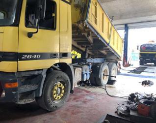Επισκευή διαφορικού ημιαξόνια φορτηγού - Γεραλής | Ευθυγράμμιση | Ζυγοστάθμιση | Service Φορτηγών | Service Αυτοκινήτων - 24ωρο Service | Κινητό Συνεργείο | Έλεγχος ΚΤΕΟ | Κάρτες Καυσαερίων | Διαγνωστικός Έλεγχος