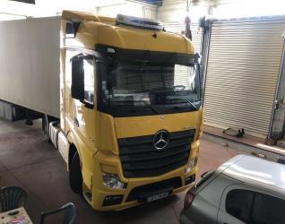 Επισκευή σε φορτηγό Actros - Γεραλής | Ευθυγράμμιση | Ζυγοστάθμιση | Service Φορτηγών | Service Αυτοκινήτων - 24ωρο Service | Κινητό Συνεργείο | Έλεγχος ΚΤΕΟ | Κάρτες Καυσαερίων | Διαγνωστικός Έλεγχος